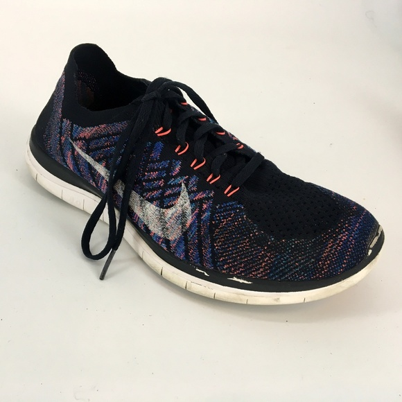 Nike Free Flyknit 4.0 Running Shoes Mens size 12